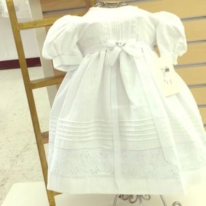 Baptismal Baby Dress, 2 pieces 06/12 months cec2